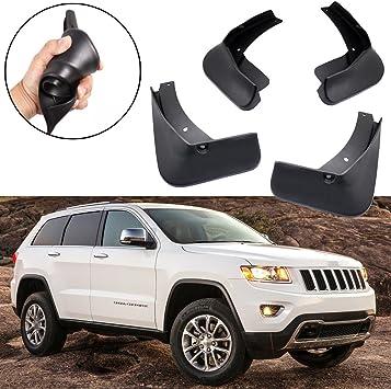 A-Premium Mud Flaps MudFlaps Splash Guard Mudguard Fender for Jeep Cherokee WK2 2019-2020 Pack of 4