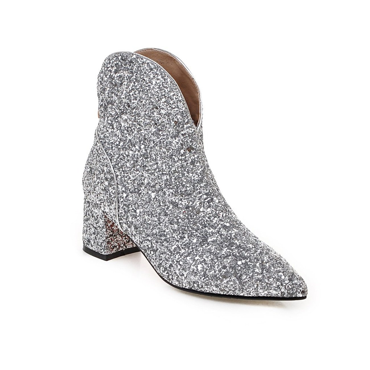 YL, B079YBJG24 19919 Bottes Silber pour Femme Silber 51cf333 - latesttechnology.space