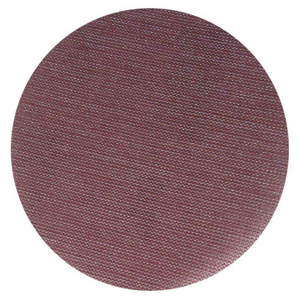 SUPERTOOL 150 mm, grana 80-800 per rimuovere la vernice e levigare la vernice 5 dischi abrasivi in rete con velcro rosso