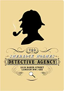 Sherlock Holmes Passport Sized Notebook - By The Unemployed Philosophers Guild