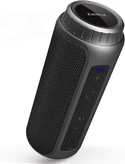 Zamkol Bluetooth Speakers 110W Waterproof Bluetooth Speaker Portable  Wireless Loud Stereo Sound & Enhanced Bass Speaker Bluetooth 110.10, Built-in  Mic