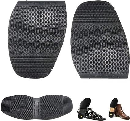 1 Pair of Men/'s DIY Stick On Soles Heel Shoe Repair Anti Slip Grip-rubber Pad