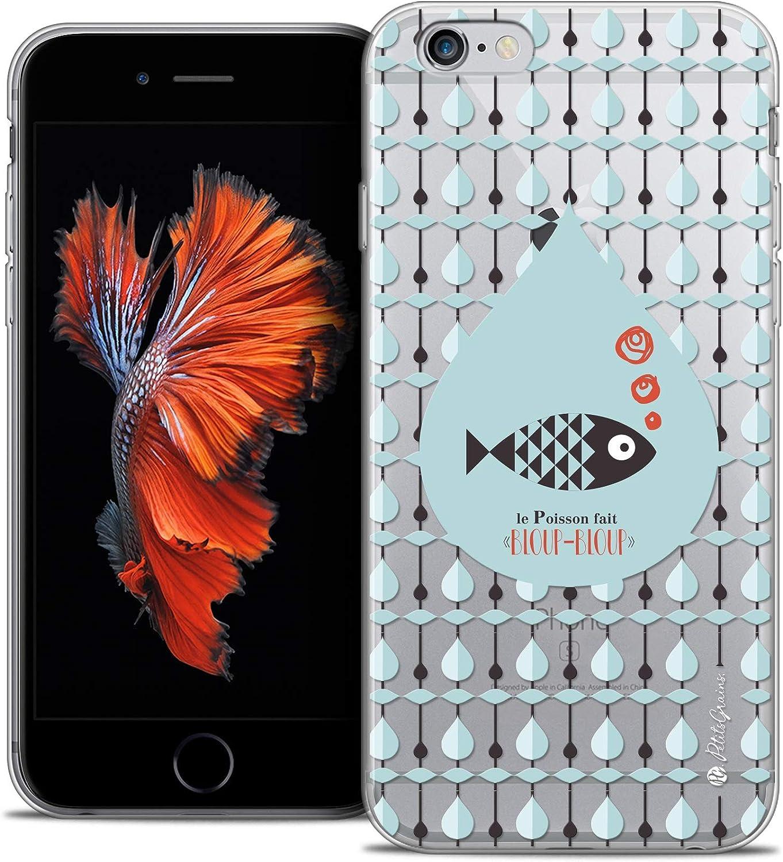 Ultra Slim Case for 5.5 Inch Apple iPhone 6/6S Plus, Little Fish Grains Design