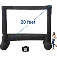 MEGA Screen Movie Screen – Inflatable Projection Screen- Portable Huge Outdoor Screen (MEGA Screen XXL)