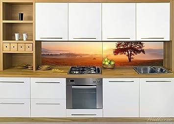 Wallario Küchenrückwand aus Glas, in Premium Qualität, Motiv ...
