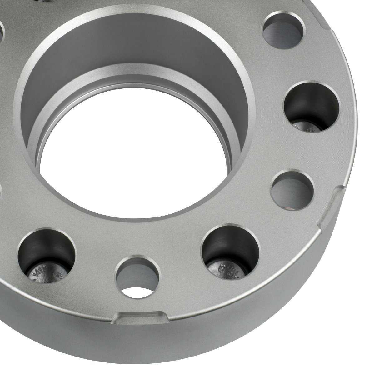 Supreme Suspensions - (4pc) 1986-2016 Toyota 4Runner 2'' Hub Centric Wheel Spacers 6x5.5'' (6x139.7mm) with Lip + M12x1.5 Studs [Silver] by Supreme Suspensions (Image #4)