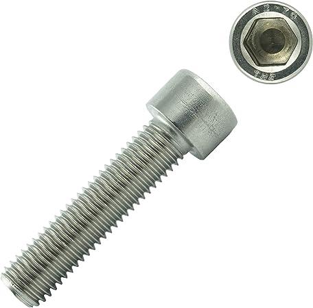 Vis cylindriques /à six pans creux 2000 Vis ISO 4762 Acier inoxydable A2 Vis filet/ées DIN 912