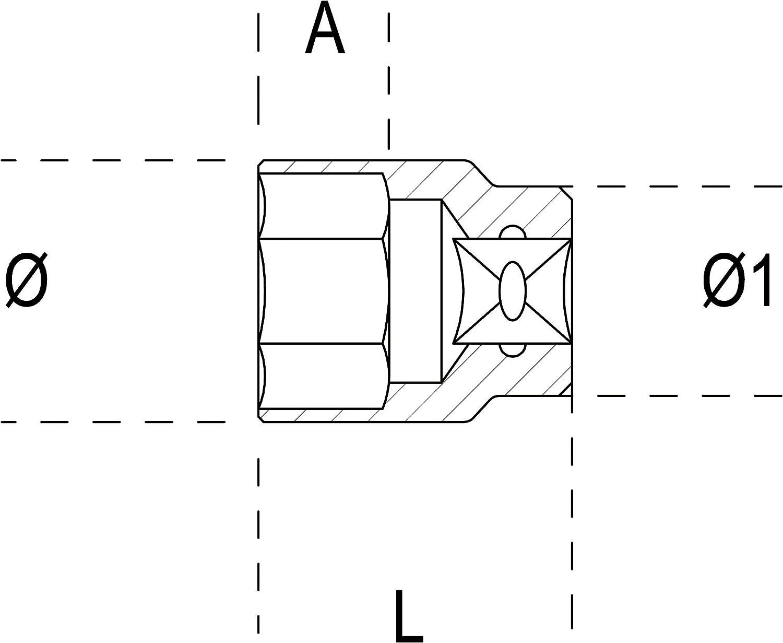 BETA 900FTX BUSSOLE TX 1//4 FTX4 E4 mm