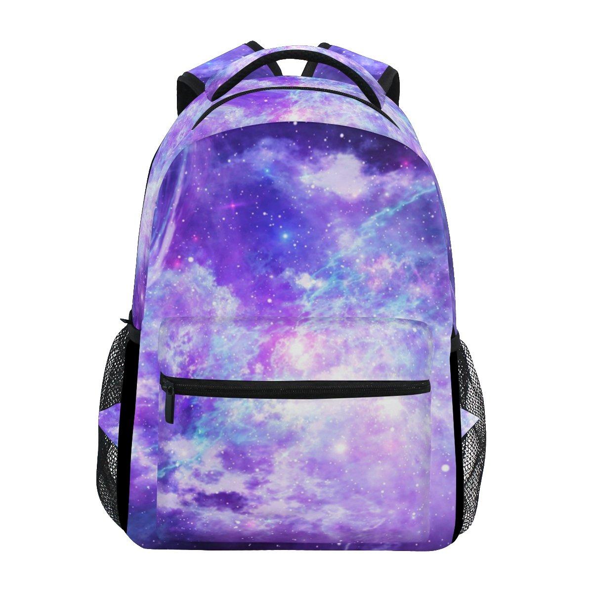 ahomy Universe Galaxy Stars Nebulaバックパックガールズカレッジスクールバッグレディースカジュアル旅行用デイパック   B07FTGZCQC