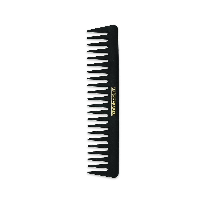MadameParis - Peine Profesional - Peine Termostático de Carbono - Desenredado Fácil - Púas largas - Ideal para el Peinado de Hombres y Mujeres - Peine Antiestático MP352