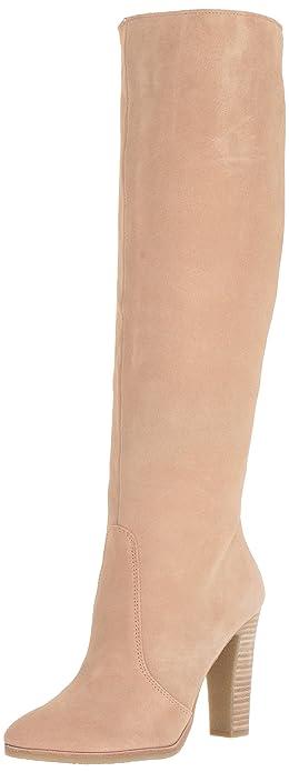 eddec39767a Dolce Vita Women s Celine Knee High Boot Blush Suede 6 Medium US