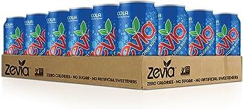 Zevia 24-Pack of 12 Ounce Zero Calorie Naturally Sweetened Soda