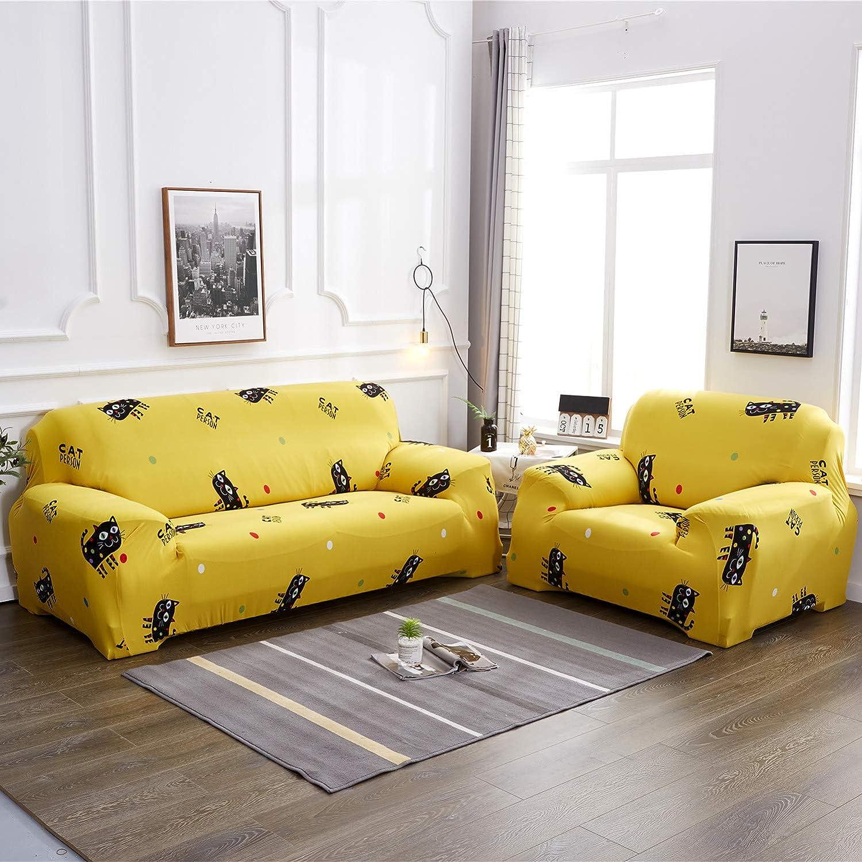 Extensible Couverture Protecteur Chaise Housses D/écor Rev/êtement Universal Elastic Sofa Protector Housse Meubles Maison Chickwin Housse de Canap/é