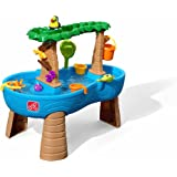 Step2 Tropical Rainforest Water Table   Colorful Kids Water Play Table with 13-Pc Accessory Set