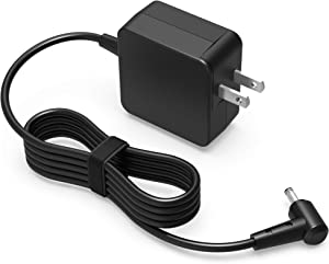 UL Listed 65W AC Charger Fit for Asus Q524UQ Q524U Q524 Q534UX Q534U Q534 Q535UD Q535U Q535 Zenbook Duo UX481FA UX481F UX481 15 UX533FD UX533FAC UX533FA 2-in-1 Laptop Power Supply Adapter Cord