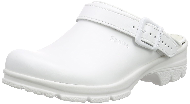 Sanita San-Duty Open-OB, Zuecos Unisex Adulto 39 EU|White (White 1)