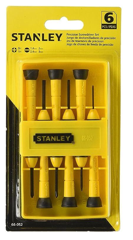 precision tools stanley. stanley 0-66-052 precision screwdriver set (6 pieces): amazon.co.uk: diy \u0026 tools i