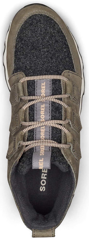 Sorel Kinetic Caribou, Chaussure de Marche Femme Fausse Pierre