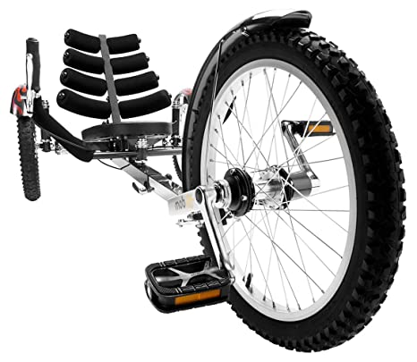 Mobo Shift 3-Wheel Recumbent Bicycle Trike  Worlds 1st Reversible Adult  Tricycle Bike