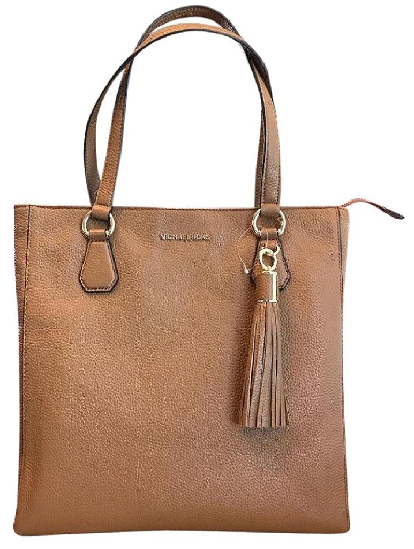119b9b6019f403 Amazon.com: Michael Kors 35S7GBFT2L Bedford Acorn Pebbled Leather Zip Tote  Handbag: Clothing