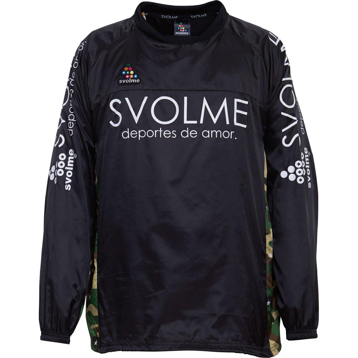 SVOLME(スボルメ) ジュニア タフタピステ上下セットJ 173-45609 B074Y7Q2S2 130|ブラック ブラック 130