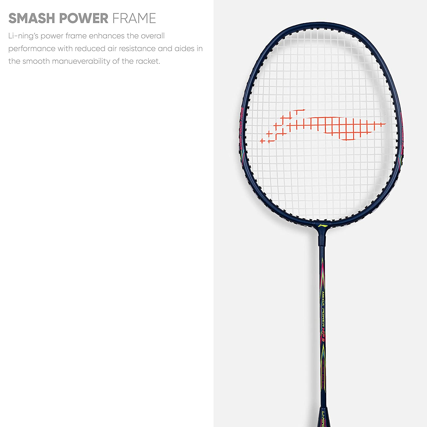 Badminton Racket with Free Head Cover