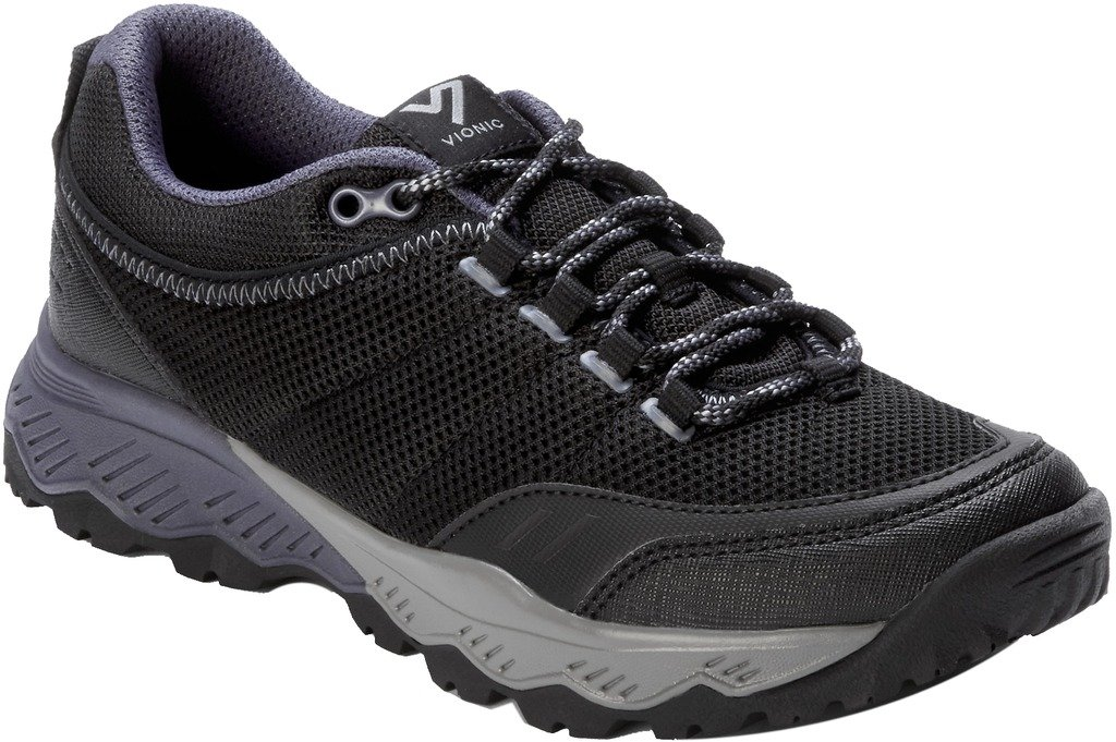 Vionic Women's McKinley Low Top Hiking Shoes Black 8.5 M