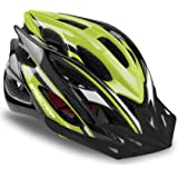 Basecamp Specialized Bike Helmet, Bicycle Helmet with Helmet Accessories-Led Light/Removable Visor/Portable Bag Cycling Helme