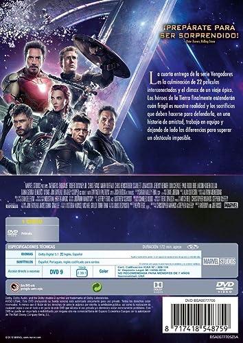 Pack: Vengadores 1-4 [Blu-ray]: Amazon.es: Robert Downey Jr ...