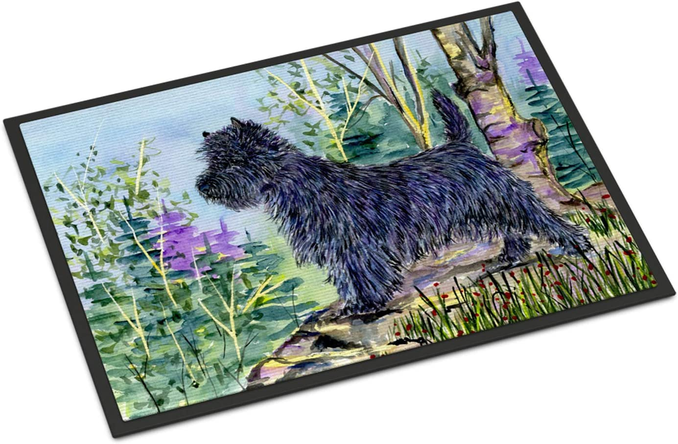 Caroline s Treasures SS8665MAT Cairn Terrier Indoor Outdoor Mat 18×27 Doormat, 18H X 27W, Multicolor