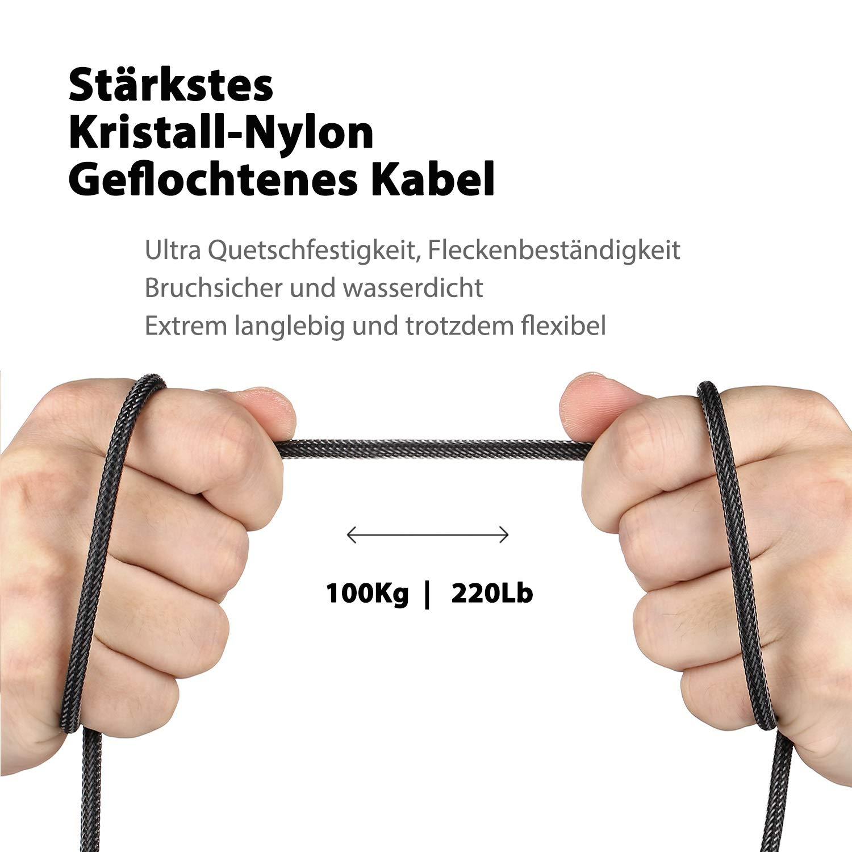 2 TRS Buchse DuKabel Conversor de Audio TRRS Stecker