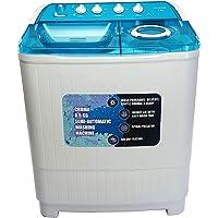 Croma 8.5 kg Semi Automatic Top Loading Washing Machine (CRAW2222, White)