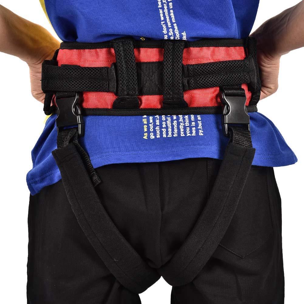 Training belt for rehabilitation, Transfer belt with belt loop, Auxiliary rehabilitation belt, Walking rehabilitation belt for leg rehabilitation(L) by TMISHION (Image #6)