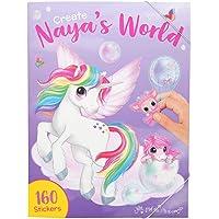 Depesche 11068 kleurboek Create Nayas World, Ylvi en de Minimoomis, ca. 33 x 25 x 0,8 cm