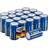 Varta Industrial- Batterie Alcaline, Tipo D LR20, pacco da 20, fatto in Germania