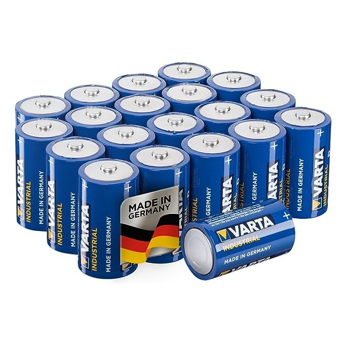 Baby 1,5 V Alkaline Batterie 2er Bli. 20 x Varta Longlife Power High Energy C