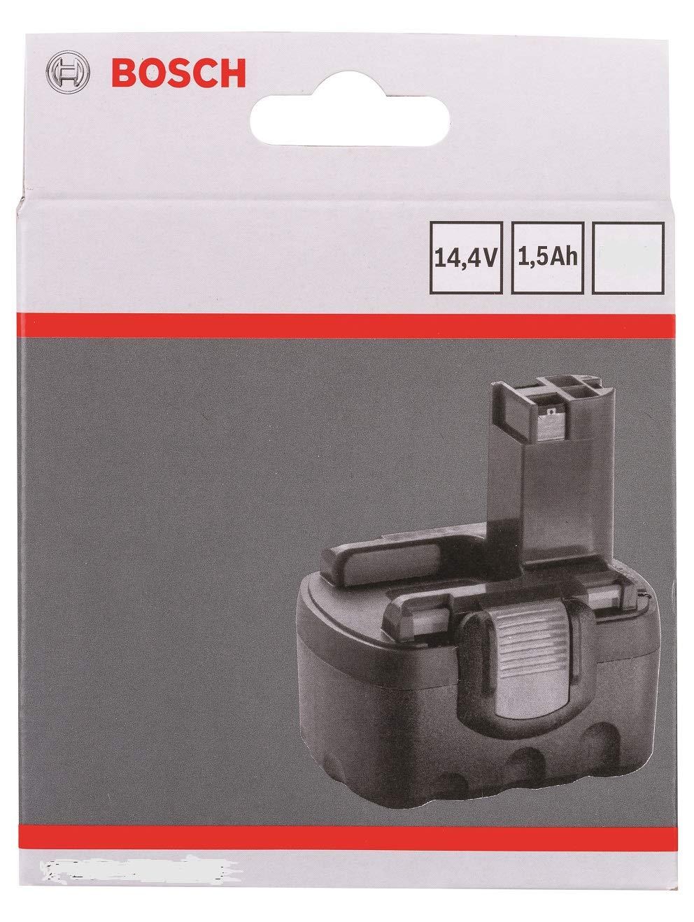 Bosch Genuine 14.4V c//w STANLEY KeyTape Pod Style Battery VERSION To Fit: BOSCH Cordless AHS 41 Accu Hedgecutter and Cordless AHS 52 Accu Hedgecutter image shown + Cadbury Chocolate Bar 1.5Ah