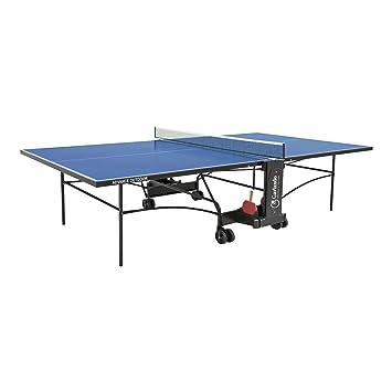 Garlando Mesa Ping Pong Advance Outdoor con Ruote per Esterno Azul ...