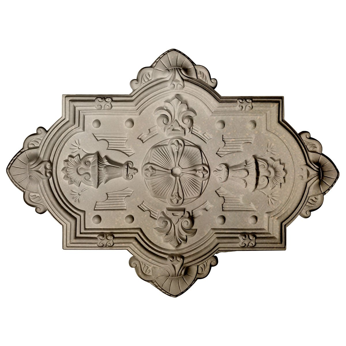 Ekena Millwork CM29X38CAFCS Cathedral Ceiling Medallion, Flash Copper