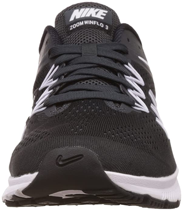 timeless design ec644 ccbc7 Nike Mens Air Zoom Winflo 3 Running Shoe BlackWhite-Anthracite 13 D(M) US  Buy Online at Low Prices in India - Amazon.in