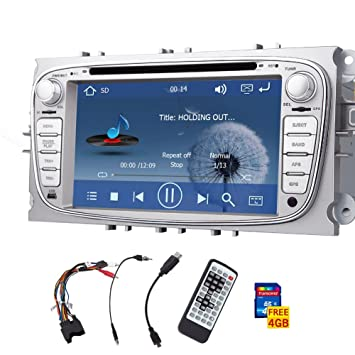 Pantalla HD Digital t¨¢ctil de coches GPS DVD CD Video Player 2 din