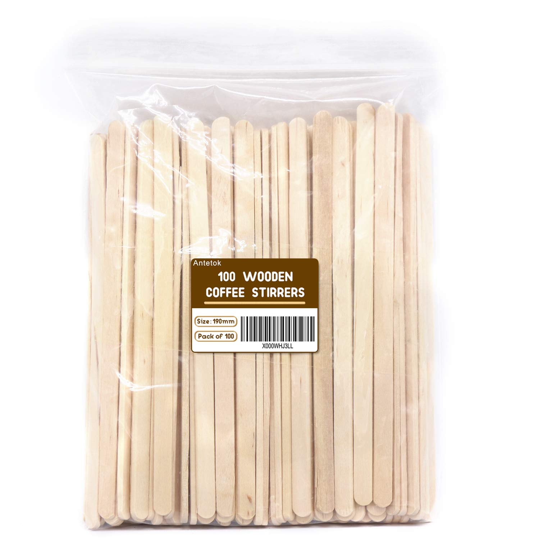 PUREGUSTO Swizzle Sugar Sticks X 100 BROWN SWIZZLE