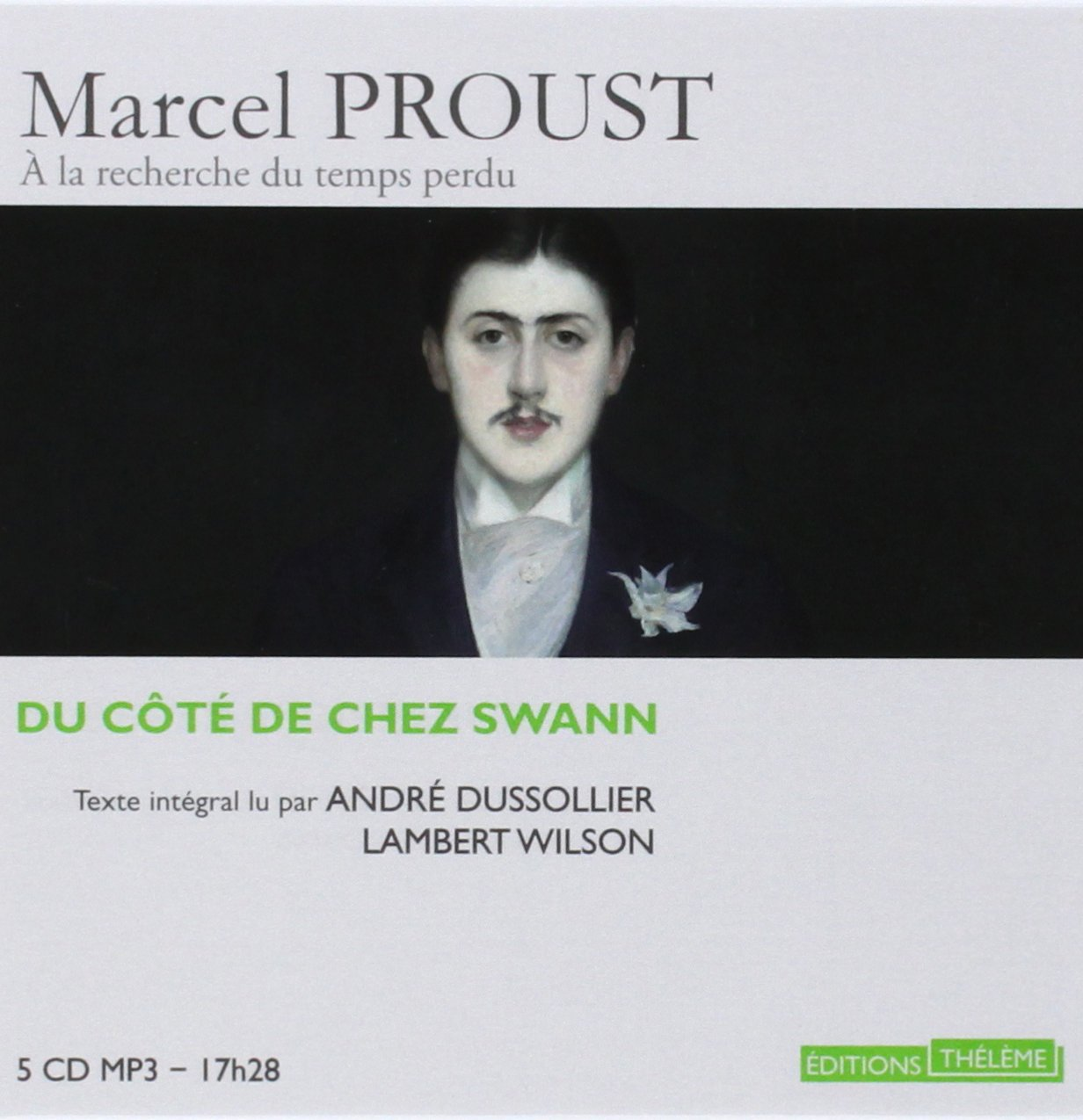 Du Cote de Chez Swann Part 1: Combray (8 Audio CD MP3) (French Edition) by French and European Publications Inc