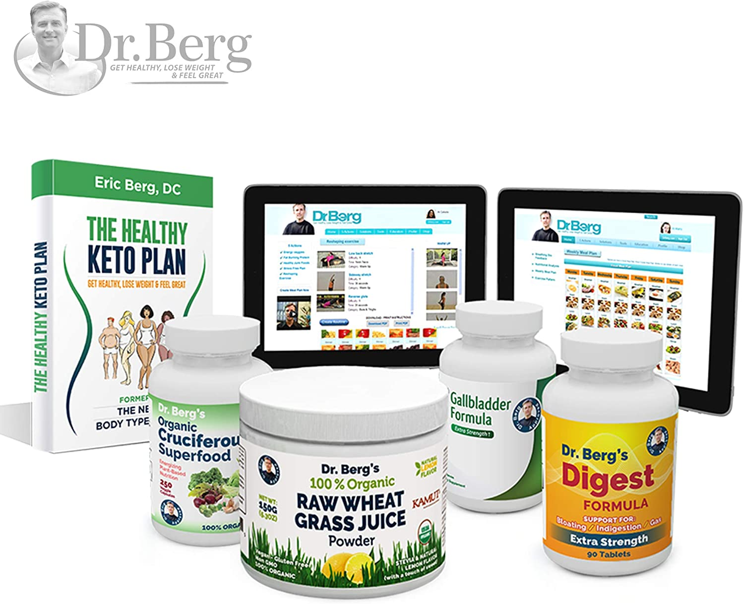 Dr. Berg s Liver Body Type Kit – Rejuvenate Your Metabolism Support Your Specific Body Type – by Dr. Berg