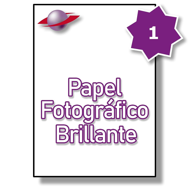 1 Par Hoja, Etiquetas 25 Hojas, 25 Etiquetas. Label Planet® Etiquetas Hoja, de Papel Fotográfico Blanco Brillante para Impresoras Láser e Inkjet 210 x 297mm, LP1/210 GWPQ. 7c877a