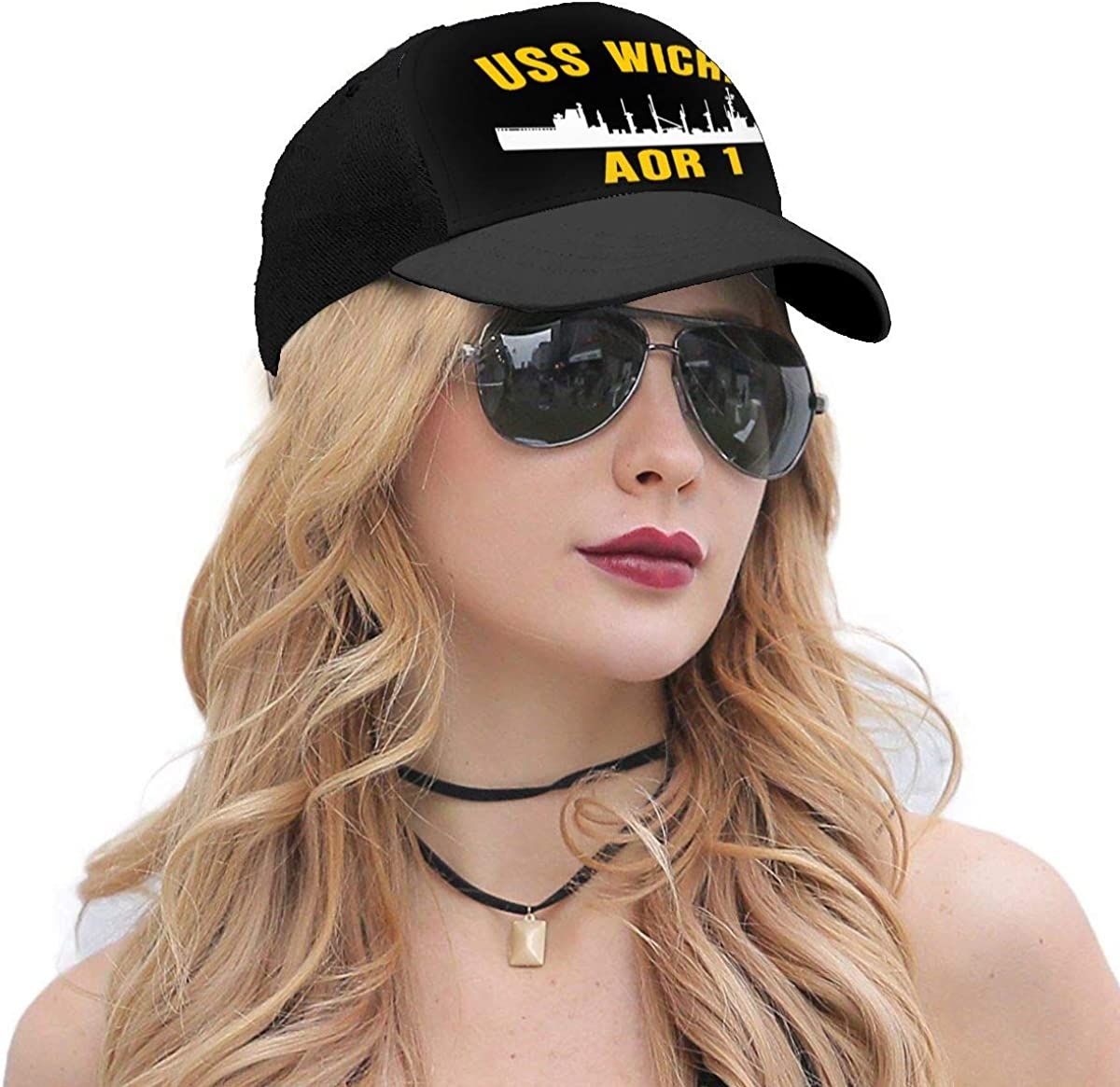YOUNAOQQ USS OBannon Dd 987 Unisex Baseball Cap Adjustable Hats Dad Hat Cap Sports Hat