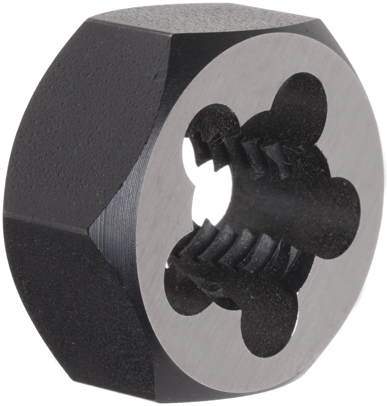 Union Butterfield 2025(UNC) Carbon Steel Hexagon Threading Die, Uncoated (Bright) Finish, 5/8''-11 Thread Size by Union Butterfield