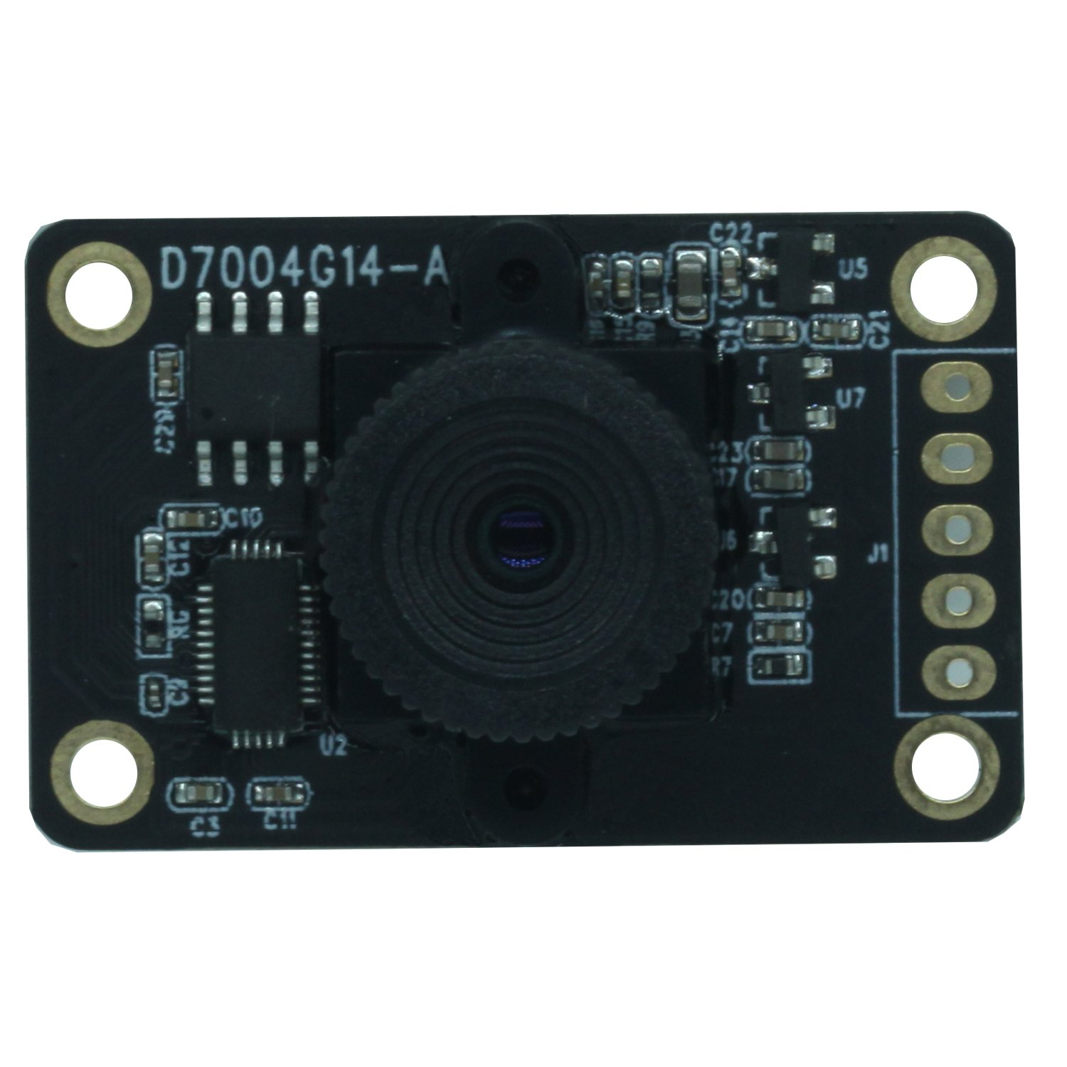 USB Mini Camera Module, 720P HD Free Driver Camera, with Non-distortion Lens FOV 120 degree, Support 1280x720@30fps,UVC Compliant, most OS, for Home monitoring,Security systems,Video system Etc