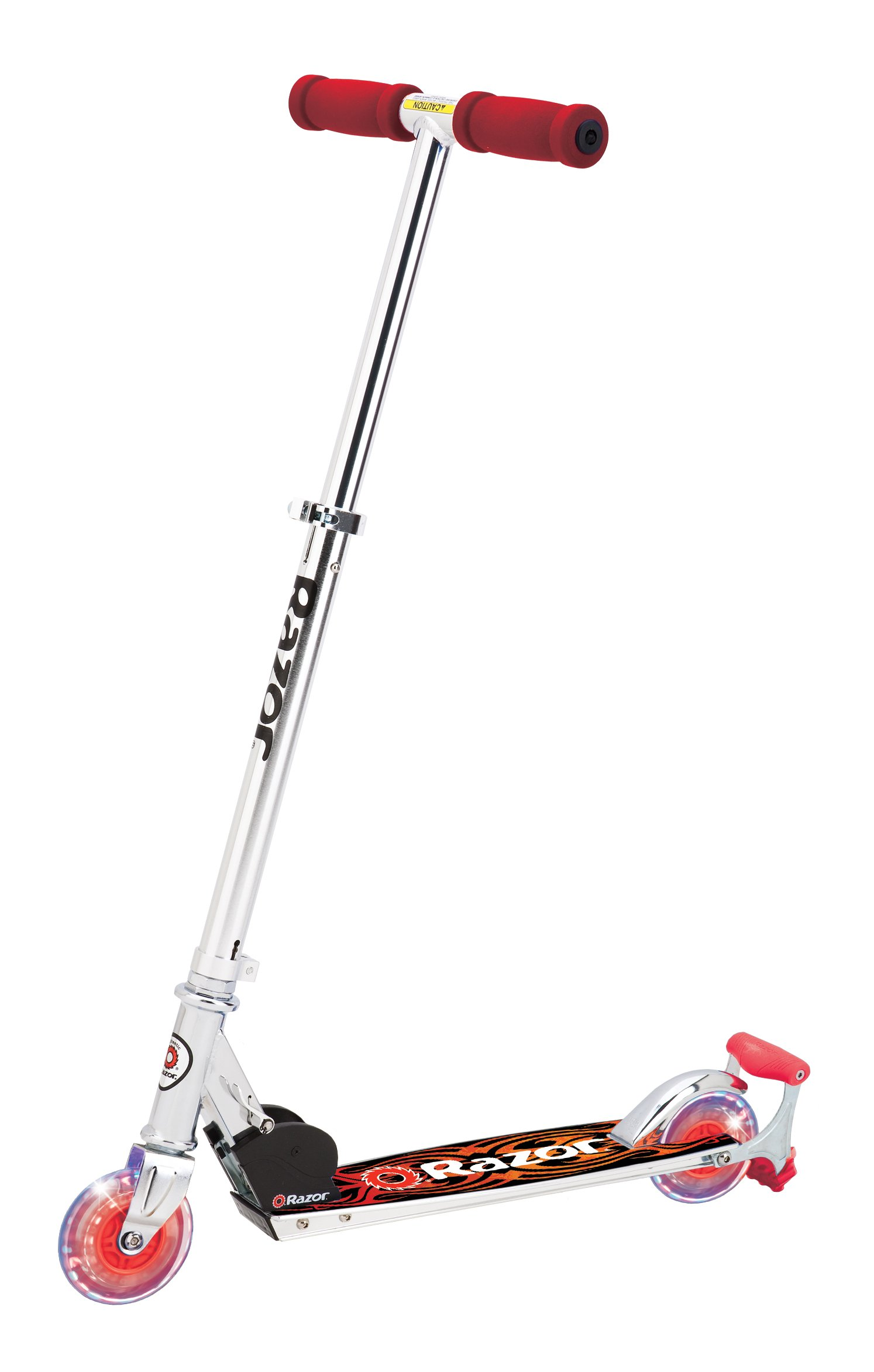 Razor Spark DLX Scooter, Red