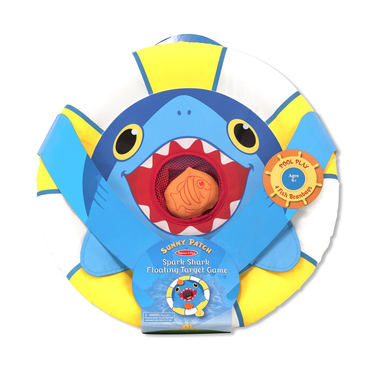 Melissa & Doug Sunny Patch Spark Shark Floating Target Game by Melissa & Doug